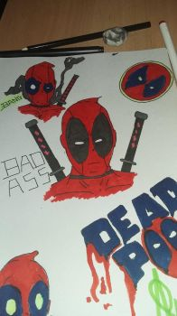 more deadpool  by projectmagrin