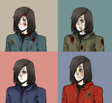 (scary) she's trouble but i'm no better by helldump