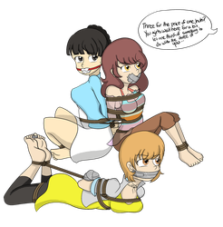 Persona 4 Girls: Summer Troubles by TheFrenchyG