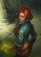 Triss Merigold by Charmrock