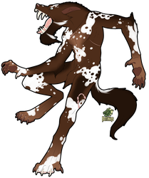 Big Spotty Dog by Rott-i-kins