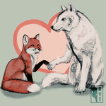 Foxie And The Woof by fBytie