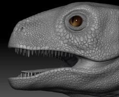 Dinosaur Project head detail by mx