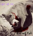 Light will rise evil will fall by NeonCandyLights