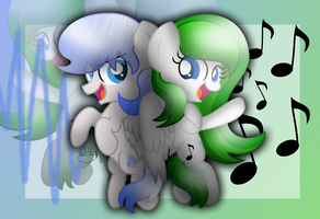 Making Their Music [+Speedpaint] by Bubbly-Storm