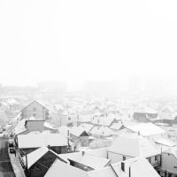 High Key - Snow over the city by hellenFq