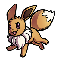 Eevee by PrinceofSpirits