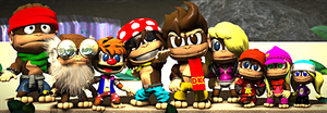 Donkey Kong: The DK Krew Redesigns - LBP3 Costumes by Varia31