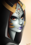 Midna Portrait by Meeshell-Art