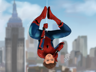 Spider-Man: Homecoming by pastelshark1103