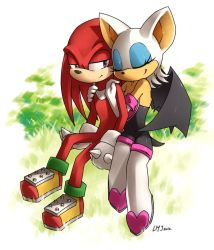 Knuckles X Rouge by KatiraMoon