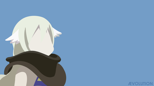 Mavis Vermillion Minimalist by aevolution0