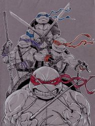 Ninja Turtles by Ka4