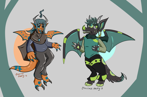 Tropical Cheeb Adopts (closed) by CannibalHarpy