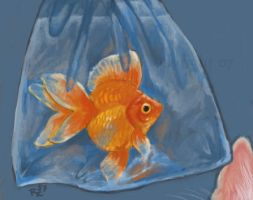 Speed Painting - Fish Dish by VisionCrafter