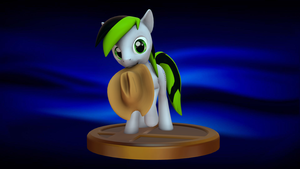 Happy Birthday Silux (Super Smash Bros. Trophy) by GreenishFury