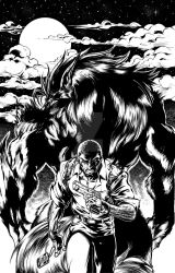 Summons Issue 2 cover ink by Inker-guy