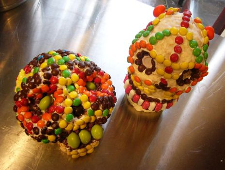 Day of the Dead Candy Skulls by mleiv