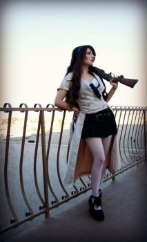 Angel With a Shotgun by Antiquity-Dreams