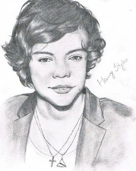Harry Styles - One Direction by Abigail14