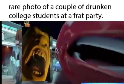 Rare Frat Party Photo by thearist2013