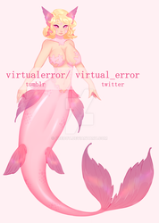 [1/2] Mermaid Adopt [CLOSED] by ubebot