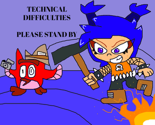 Technical Difficulties (The Great Giana Sisters) by illcitvirus115
