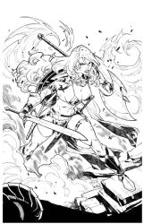 RED SONJA - Cover by CarlosGomezArtist