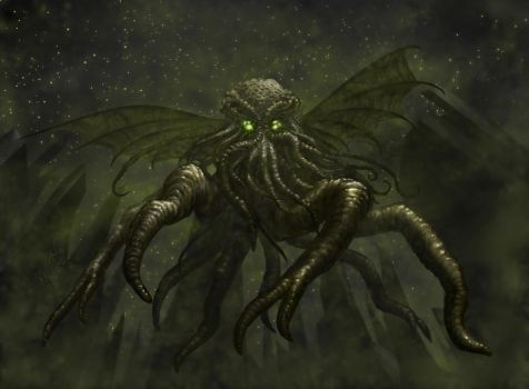 Star Spawn of Cthulhu by Eclectixx