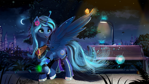Moonlight Effect by DiscordTheGE