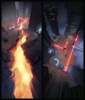 Archaica: The Path of Light - vertical view by MarcinTurecki