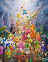 Adventure Time by Krikin