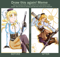 Mami redraw by colleenekat