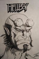 Hellboy Ink by FurkanHolmes