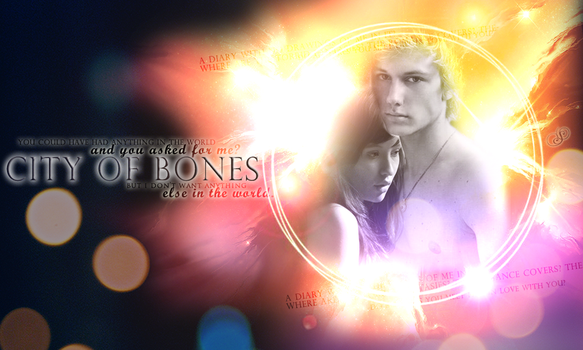 City of Bones - Clary and Jace by HippieSarah94