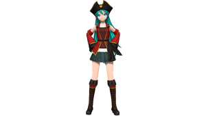 Pirate Miku by Luke-Flame