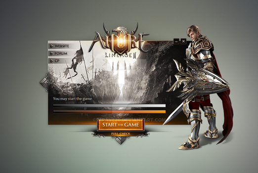 Lineage II Updater (custom skin: 9a) by MrAve20