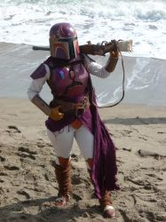 Mandalorian Fighter by ecfield