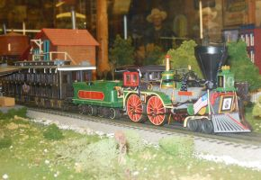Lionel Lincoln Funeral Train by rlkitterman
