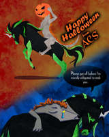 ACS Halloween by wingedpaintbrush