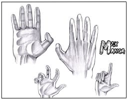 Some Hands by Max-Manga