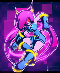 Neon Lilac by Pedrovin