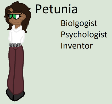 Character Introduction: Petunia by MonsterMomma