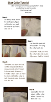 Shirt Collar Tutorial by starry-eyedkid