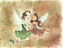Fairy Friends: Tee-Fee + Kaf-Fee by Tabascofanatikerin