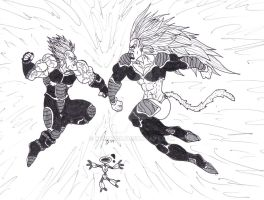 Alga Vs Saiyan by Bender18