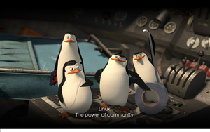 Linux Penguins Wallpaper by masterkira009
