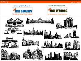 Building Brush Pack by 123freevectors