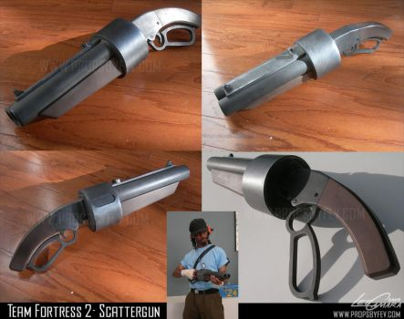 TF2- Scout scattergun by fevereon
