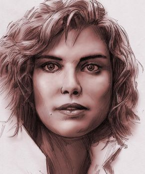 Kelly McGillis by baslergrafik
